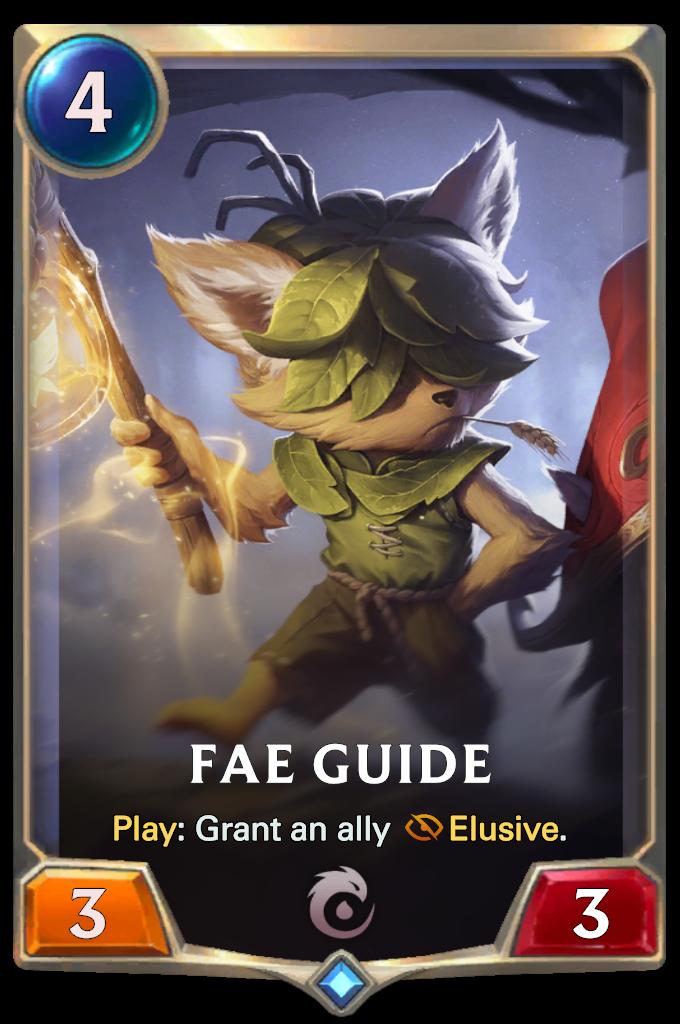 Legends of Runeterra Fae Guide Card