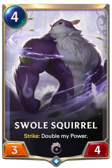 Legends of Runeterra Swole Squirrel Card