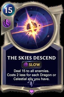 Legends of Runeterra The Skies Descend Card