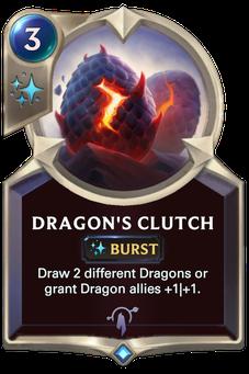 Legends of Runeterra Dragon's Clutch Card