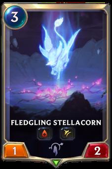 Legends of Runeterra Fledgling Stellacorn Card