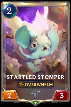 Legends of Runeterra Startled Stomper Card