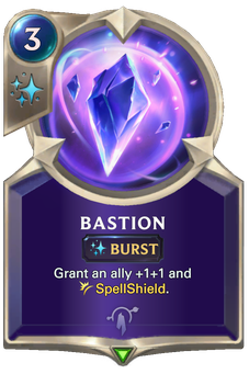 Legends of Runeterra Bastion Card