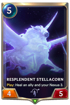 Legends of Runeterra Resplendent Stellacorn Card