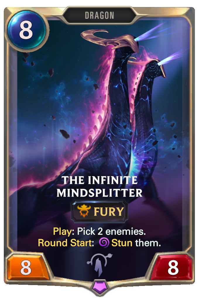 Legends of Runeterra The Infinite Mindsplitter Card
