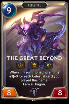 Legends of Runeterra The Great Beyond Card