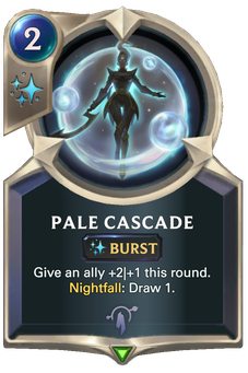 Legends of Runeterra Pale Cascade Card