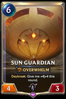 Legends of Runeterra Sun Guardian Card