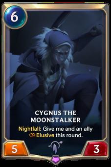 Legends of Runeterra Cygnus the Moonstalker Card