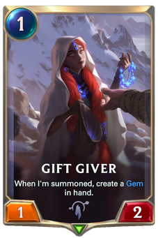 Legends of Runeterra Gift Giver Card