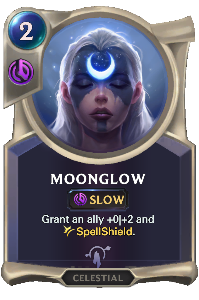 Legends of Runeterra Moonglow Card