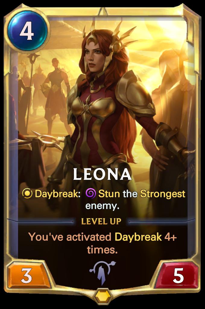 Leona Card