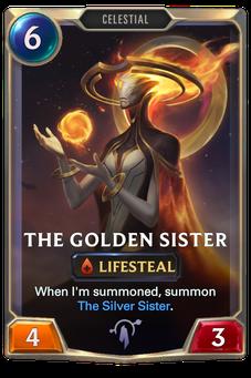 Legends of Runeterra The Golden Sister Card