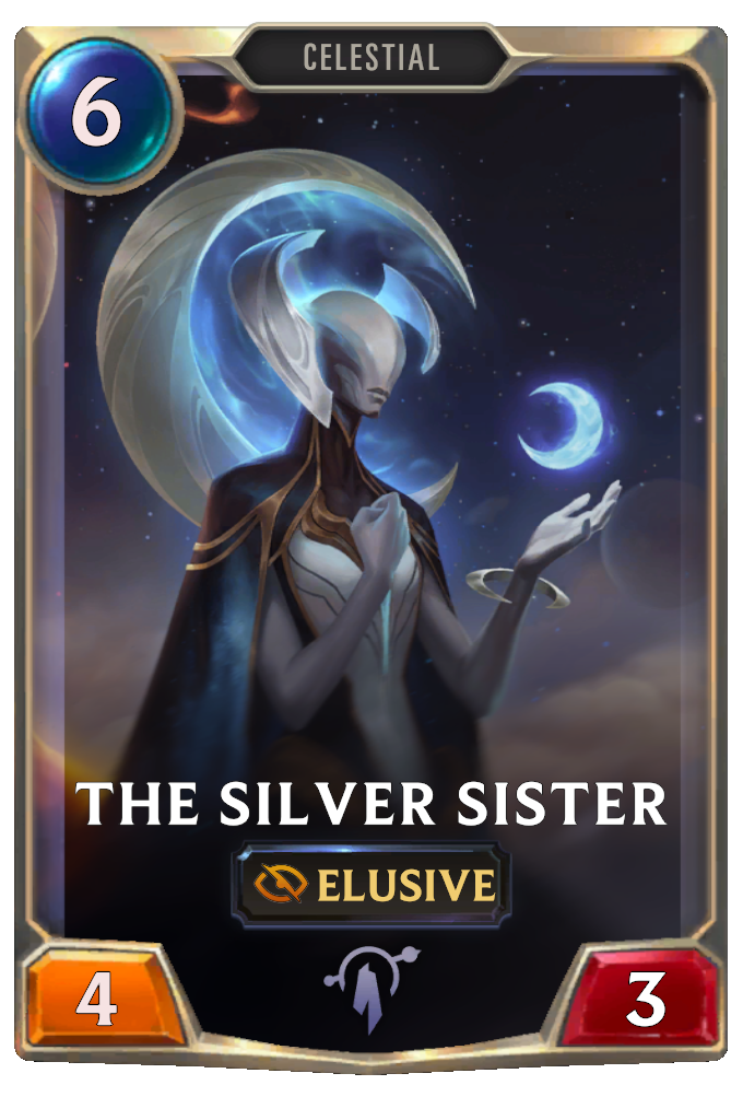 The Silver Sister Card