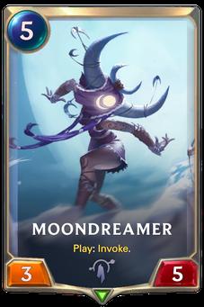 Legends of Runeterra Moondreamer Card