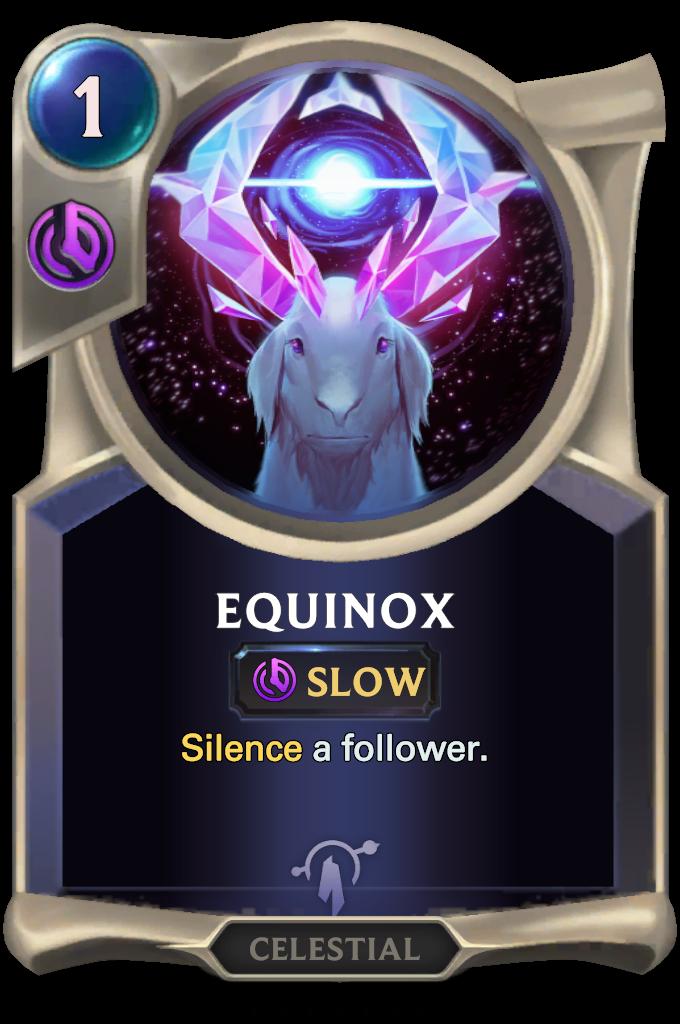 Legends of Runeterra Equinox Card