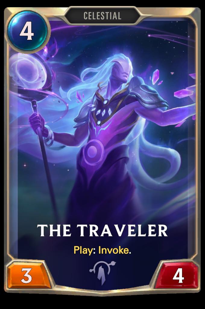 Legends of Runeterra The Traveler Card
