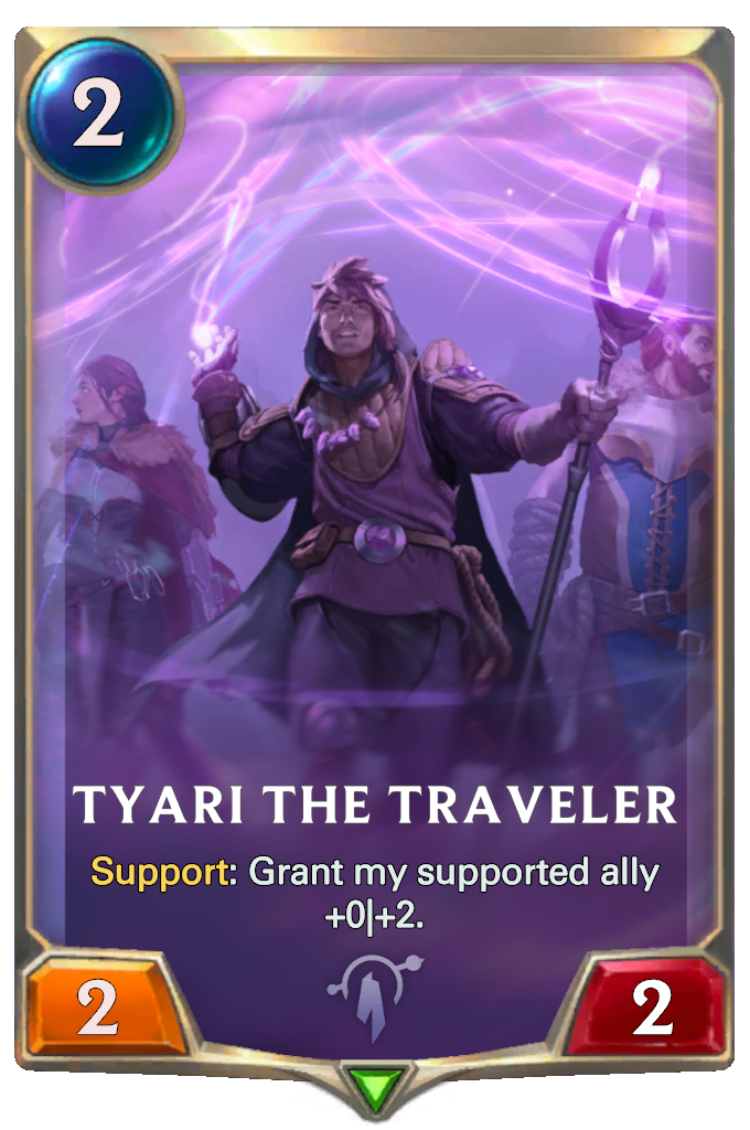 Legends of Runeterra Tyari the Traveler Card