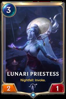 Legends of Runeterra Lunari Priestess Card