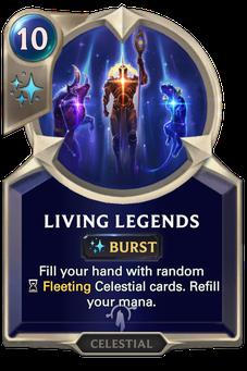 Legends of Runeterra Living Legends Card