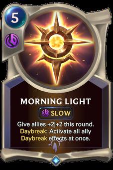 Legends of Runeterra Morning Light Card