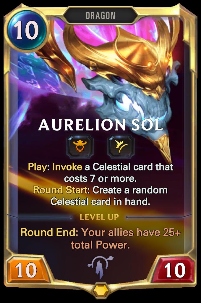 Aurelion Sol Card