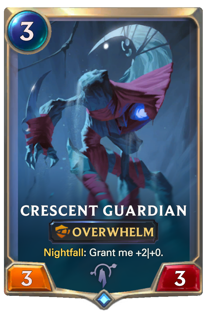 Legends of Runeterra Crescent Guardian Card