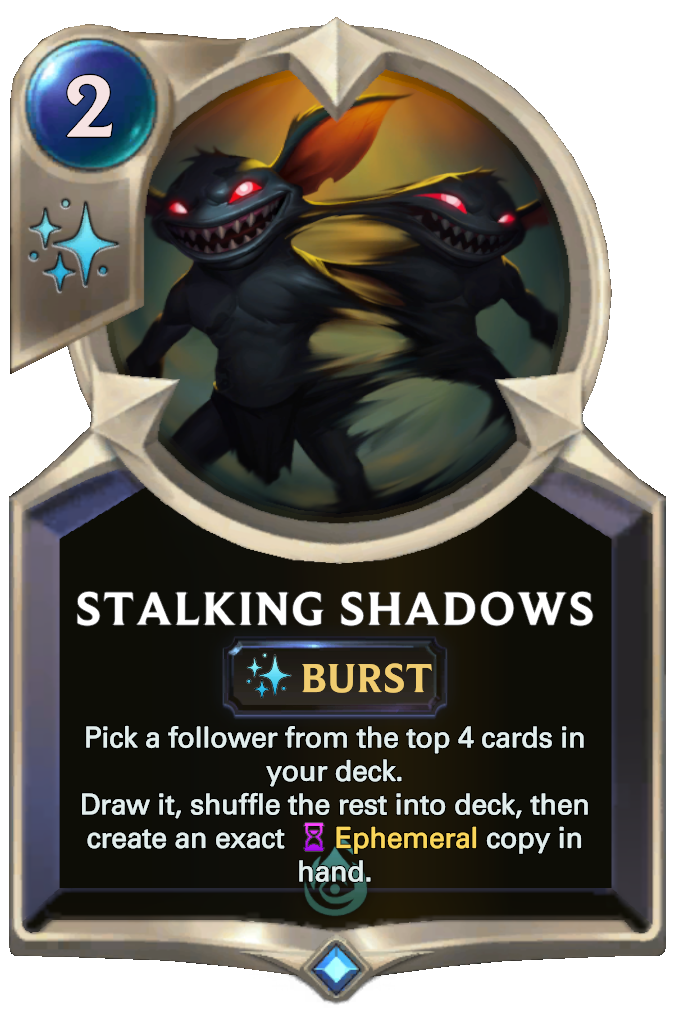 Stalking Shadows Card Image