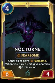 Legends of Runeterra Nocturne Card