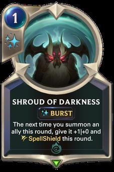 Legends of Runeterra Shroud of Darkness Card