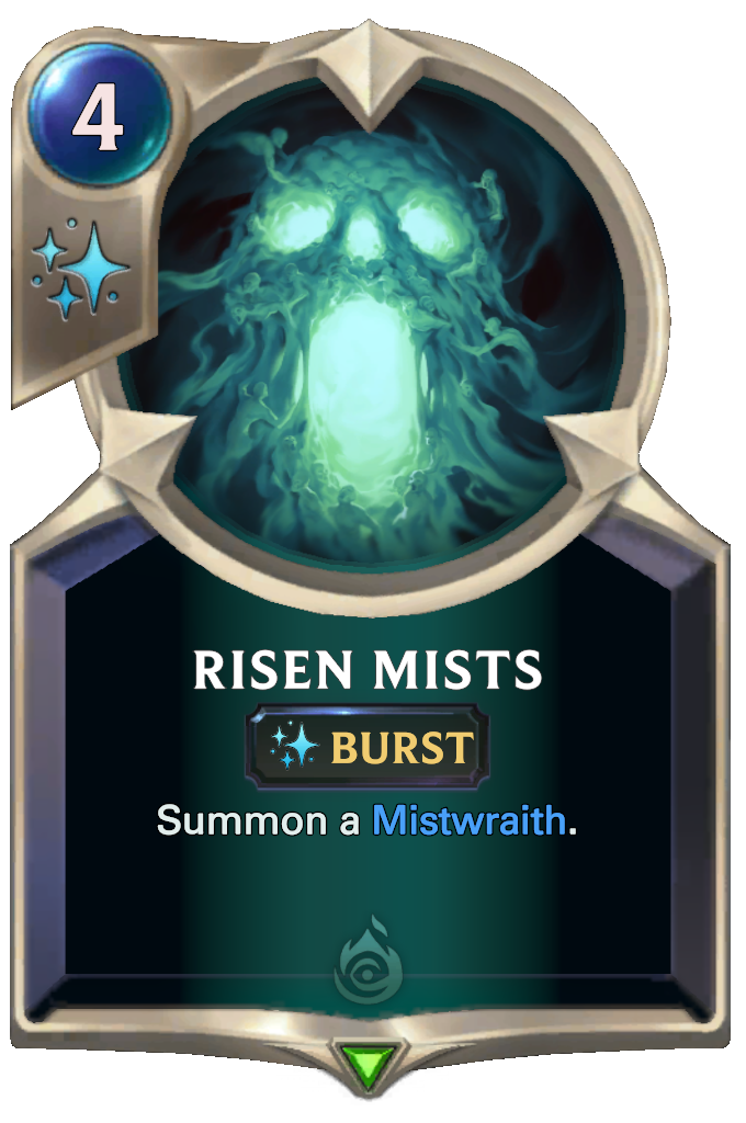 Legends of Runeterra Risen Mists Card