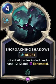 Legends of Runeterra Encroaching Shadows Card