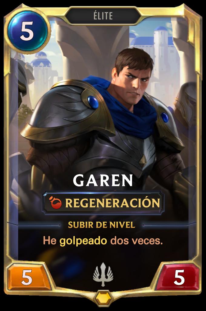 Legends of Runeterra Garen Card