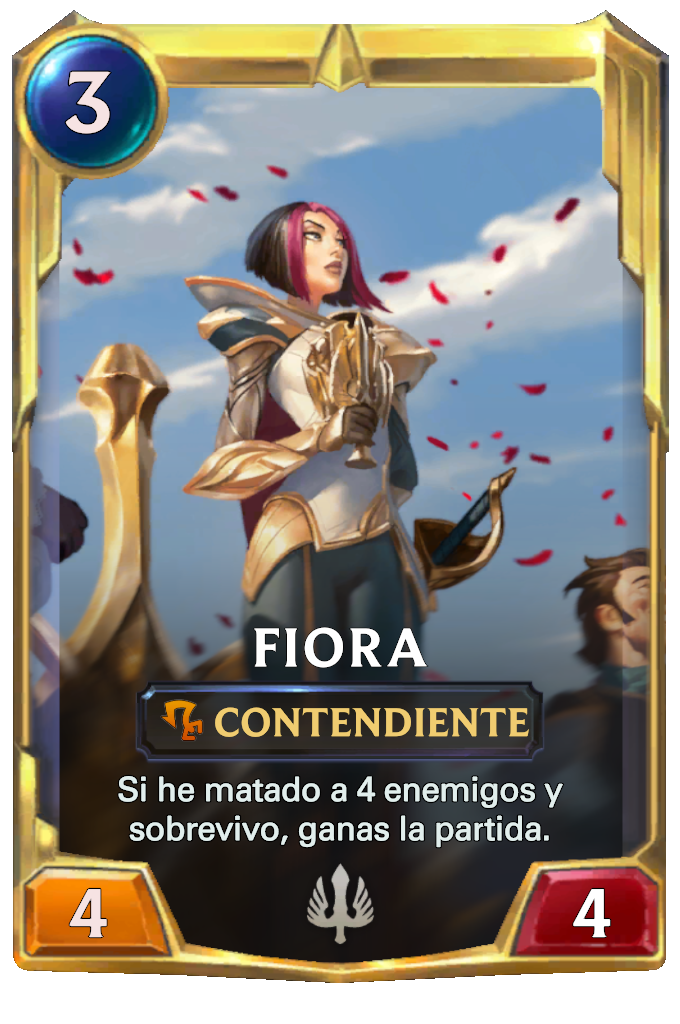 Legends of Runeterra Fiora Card