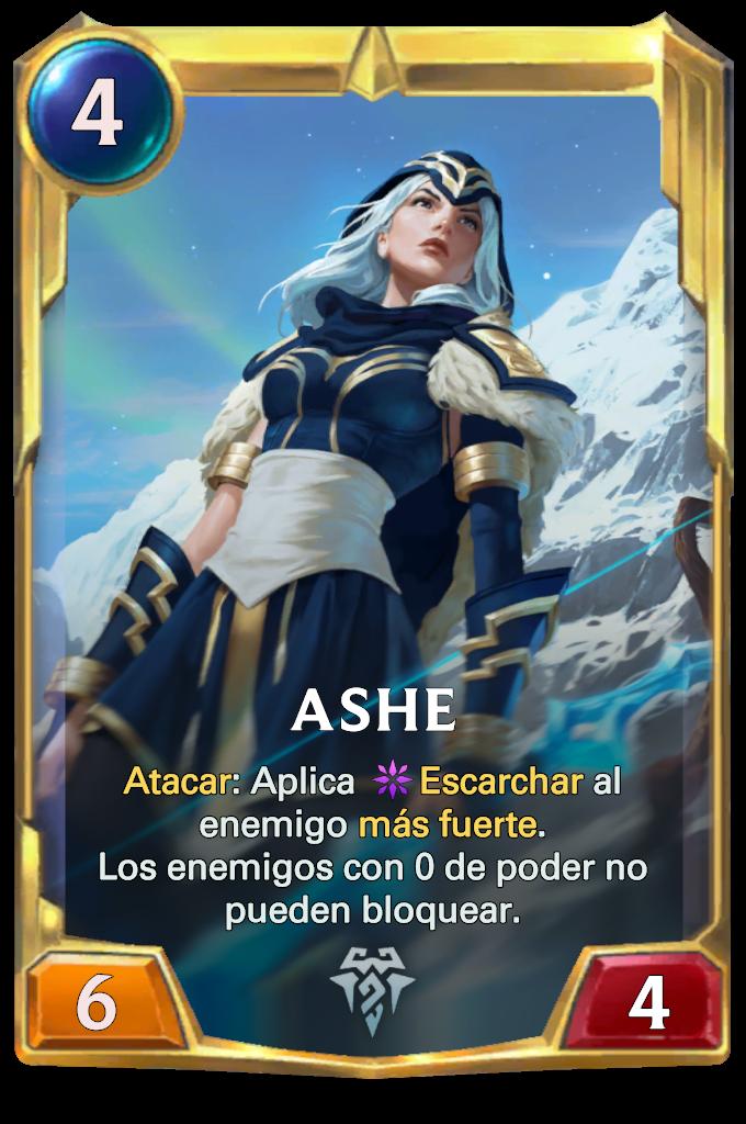 Legends of Runeterra Ashe Card