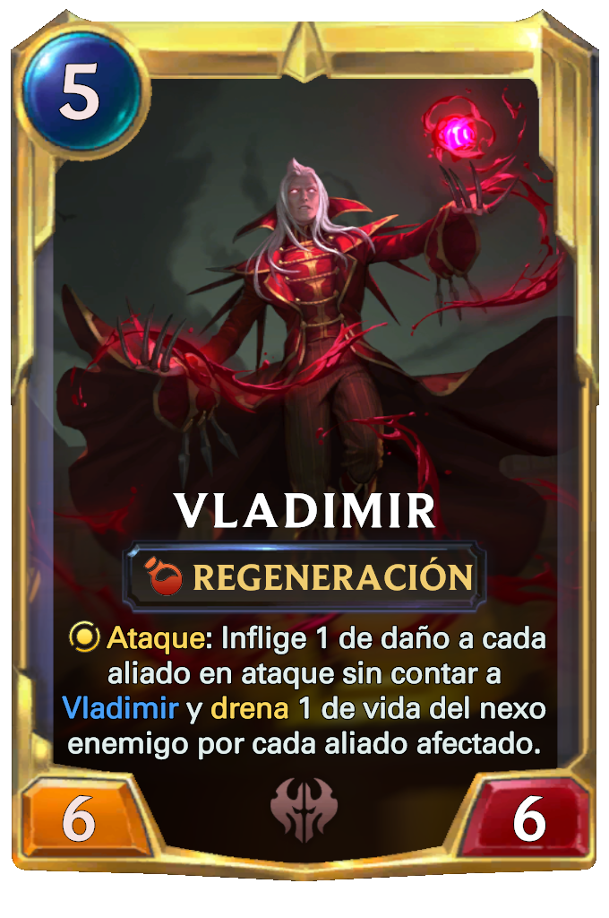 Legends of Runeterra Vladimir Card