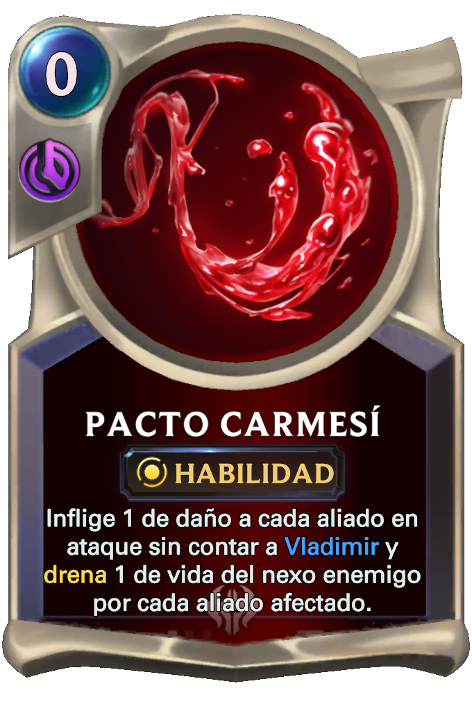 Crimson Pact Card
