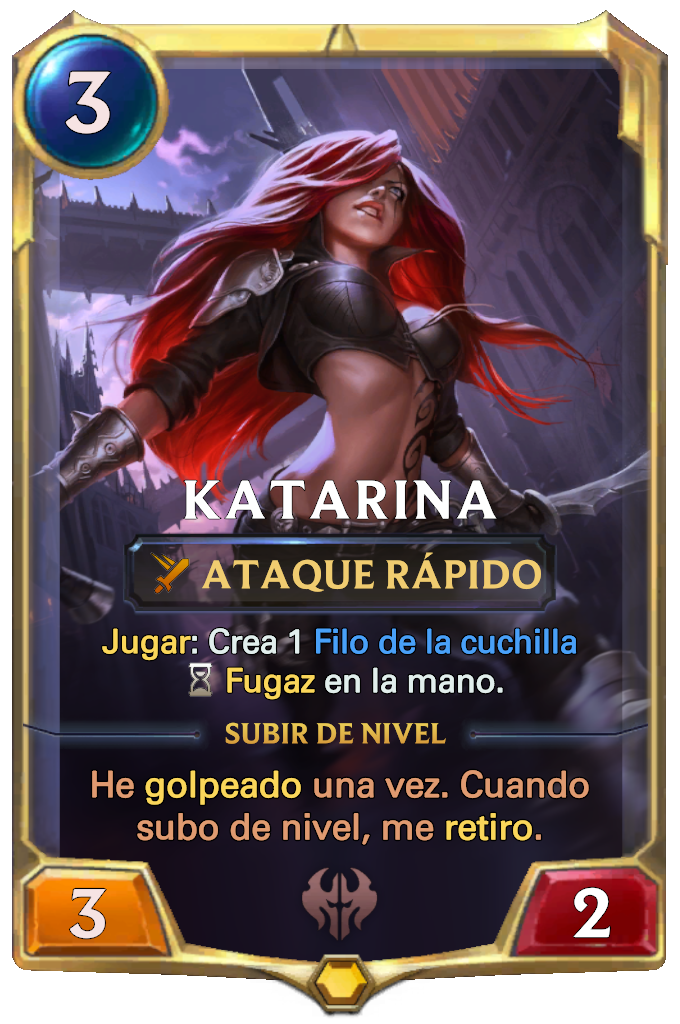 Legends of Runeterra Katarina Card