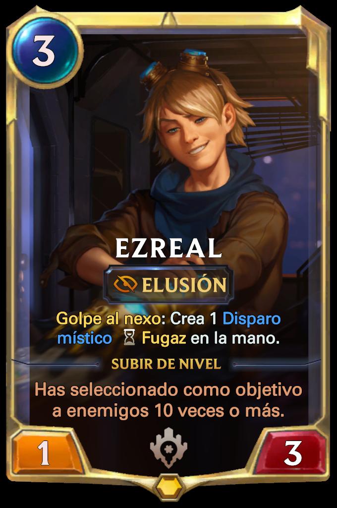Ezreal Card