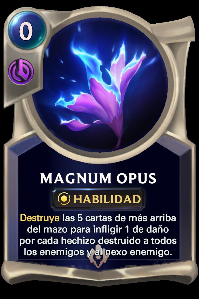 Magnum Opus Card