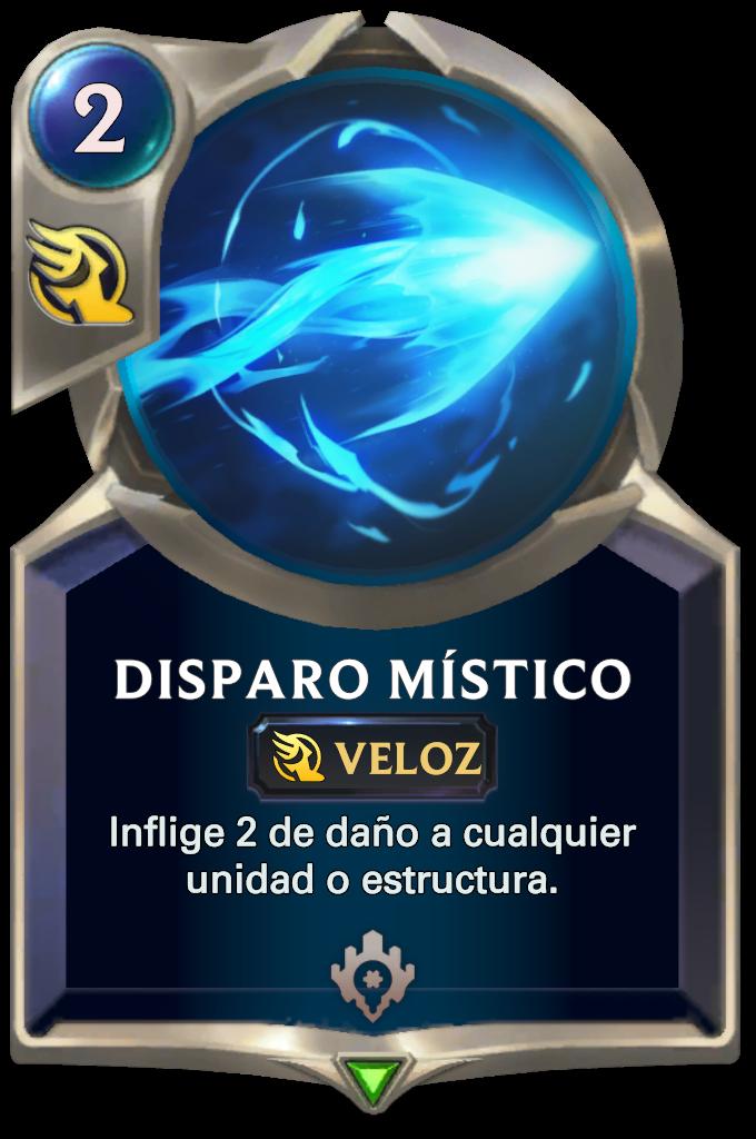 Mystic Shot Card