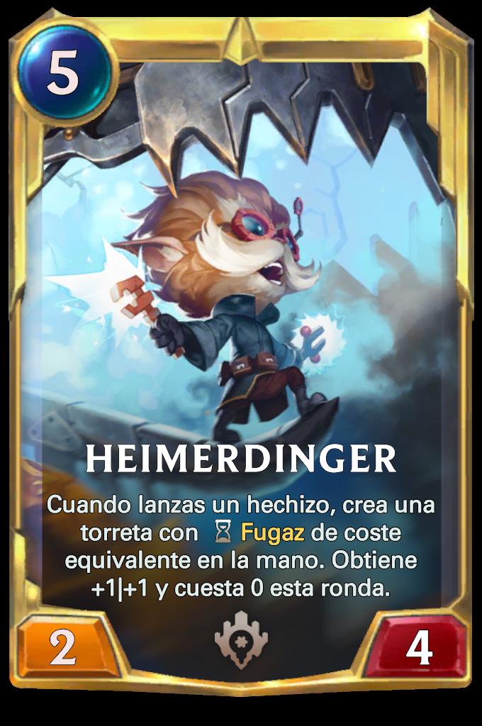 Legends of Runeterra Heimerdinger Card
