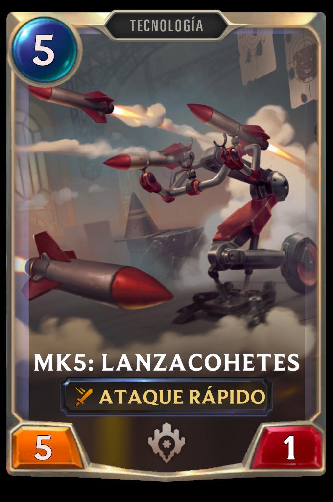 Mk5: Rocket Blaster Card