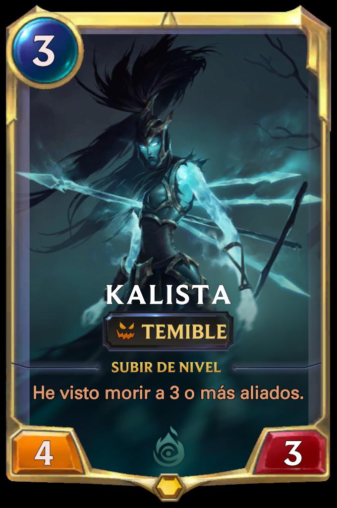Kalista Card