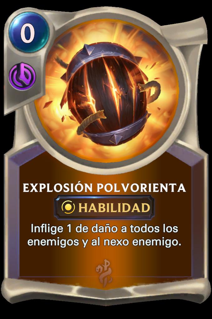 Powderful Explosion Card