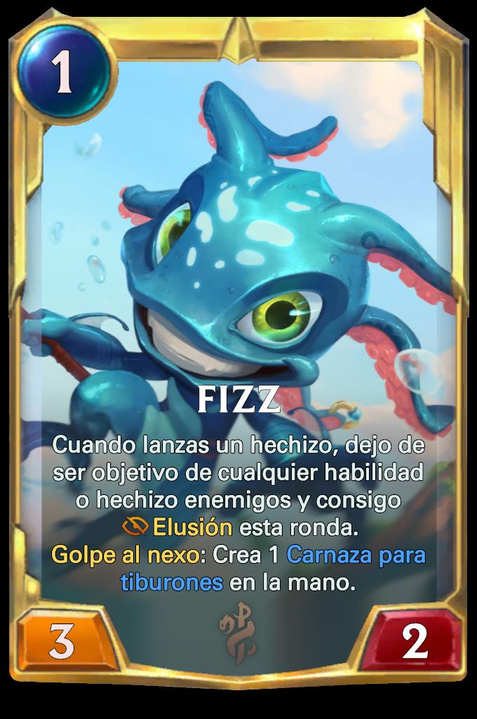 Legends of Runeterra Fizz Card