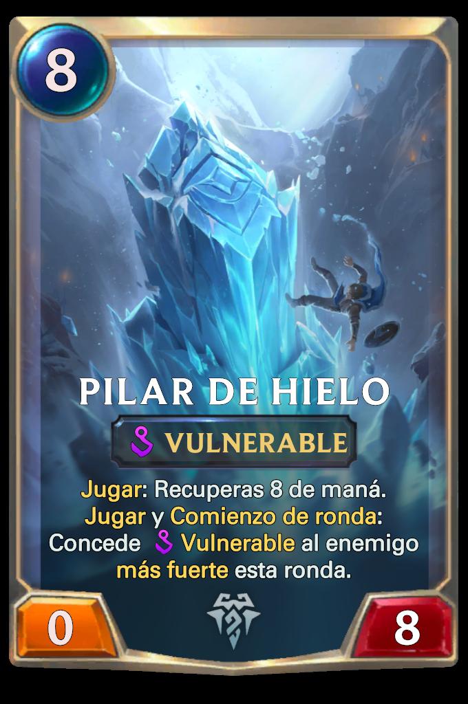 Ice Pillar Card