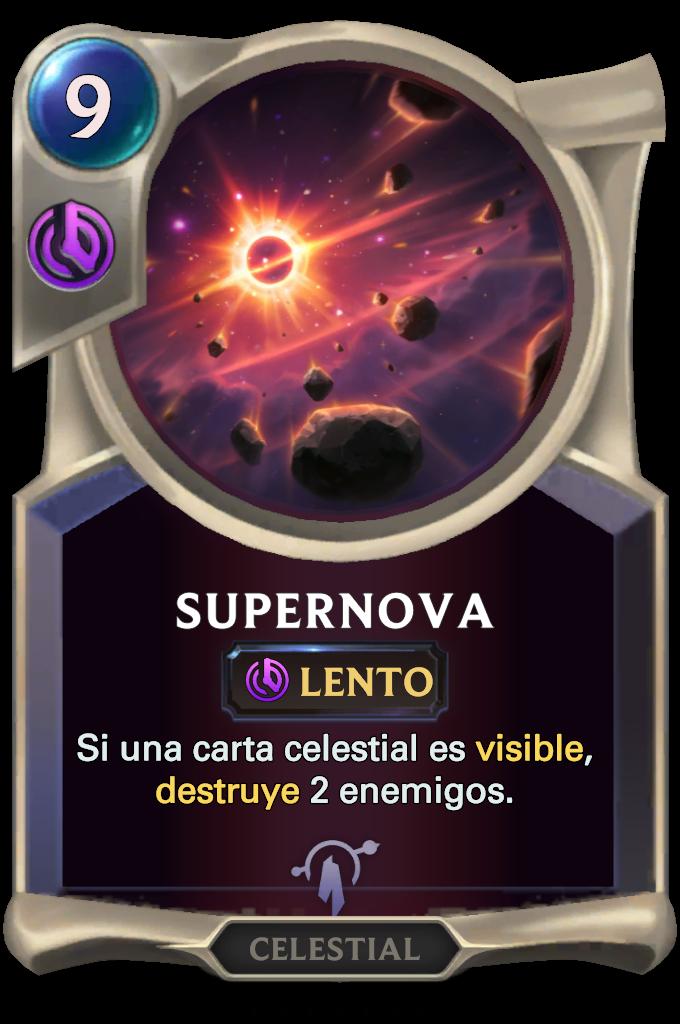 Legends of Runeterra Supernova Card