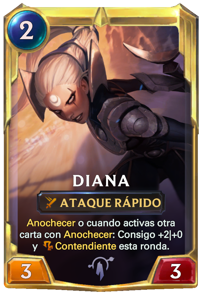 Legends of Runeterra Diana Card