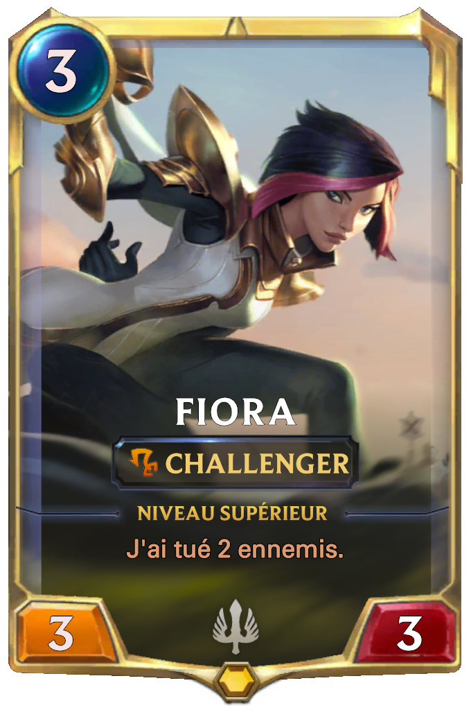 Fiora Card